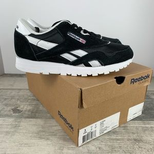 Reebok Classic Nylon Shoes Preschool Black/White